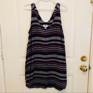 Old Navy Striped Dress with Pockets